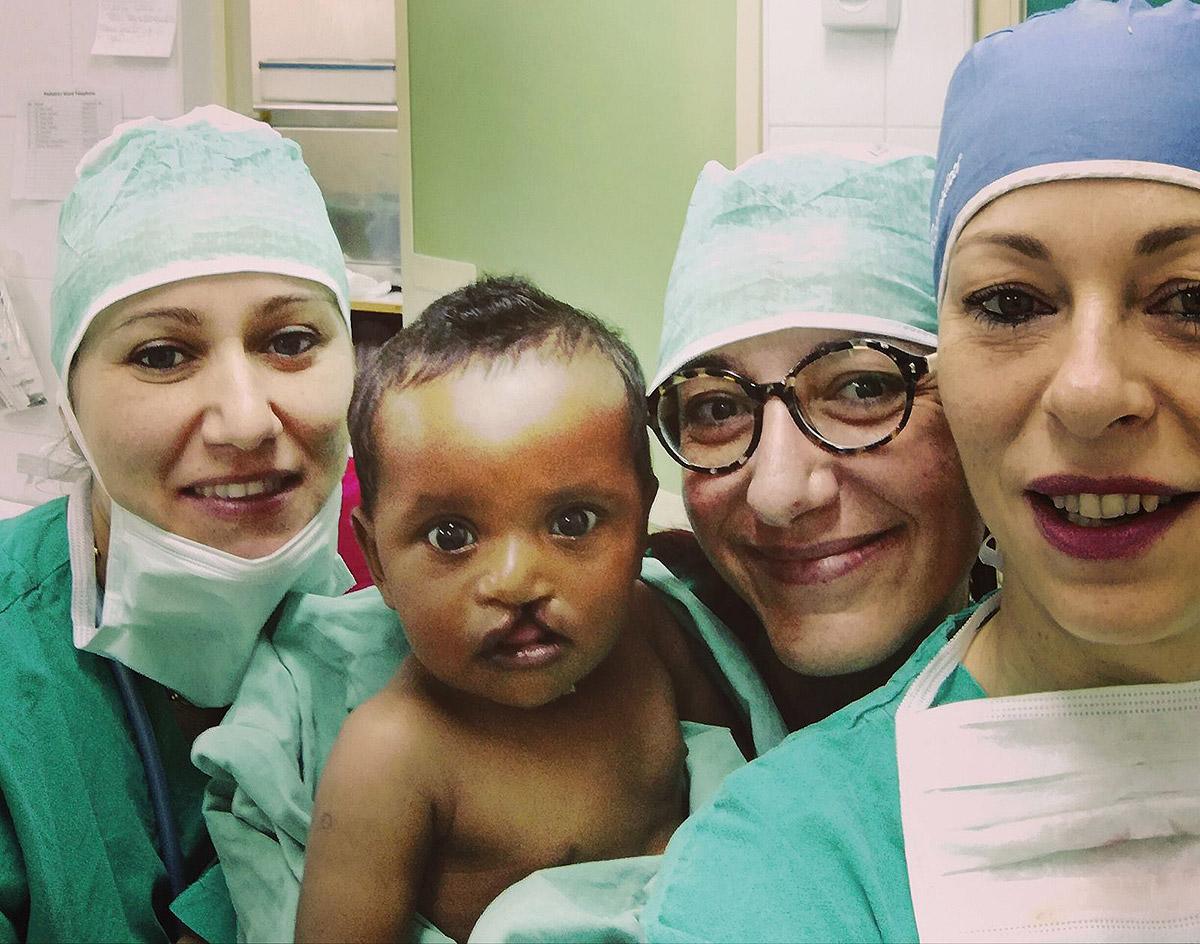 Caramella Smile - personale in sala operatoria